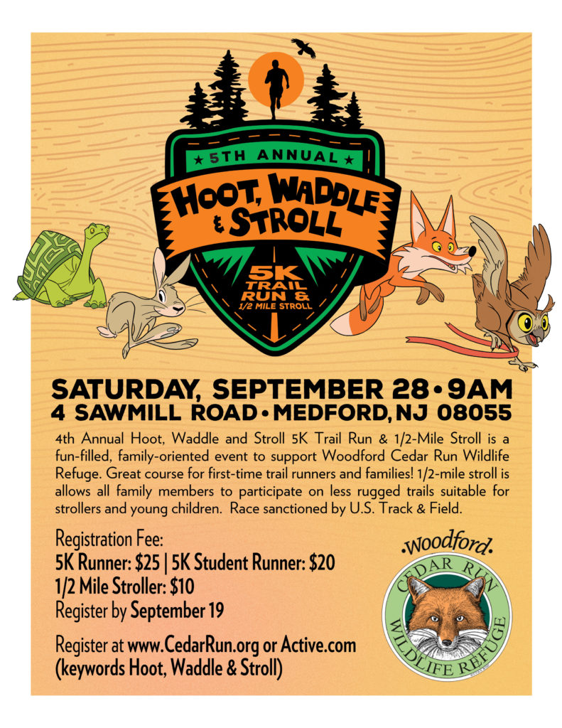 Hoot, Waddle and Stroll 5K Trail Run/Walk @ Medford | New Jersey | United States