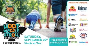 Hoot, Waddle & Stroll 5k Trail Run & Guided Stroll Fundraiser